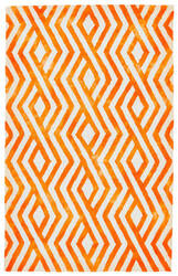 Feizy Garcia 8756f Orange Area Rug