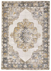 Feizy Bethania 8746f Beige - Gray Area Rug