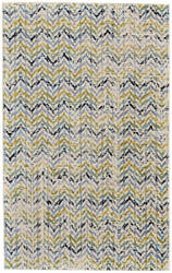 Feizy Aileen I3120 Green - Cream Area Rug