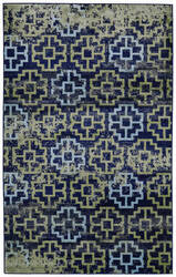 Feizy Aileen I3124 Green - Navy Area Rug