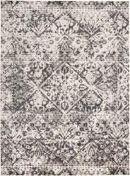 Feizy Kano 3876f Charcoal - Ivory Area Rug