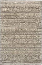 Feizy Leon 0126f White - Gray Area Rug