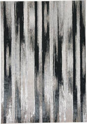 Feizy Micah 3338f Black - Silver Area Rug