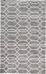 Feizy Belfort 8777f Charcoal - Ivory Area Rug