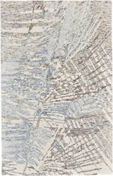 Feizy Rhett I8069 Light Gray - Ivory Area Rug