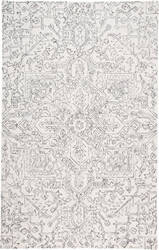Feizy Belfort 8778f Ivory - Charcoal Area Rug