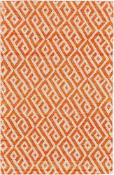 Feizy Leon 0118f Orange - Natural Area Rug