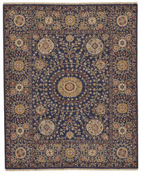 Feizy Amherst 0758f Navy Area Rug