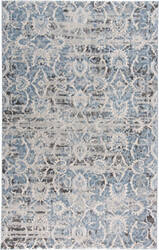 Feizy Ainsley 3901f Blue - Ivory Area Rug