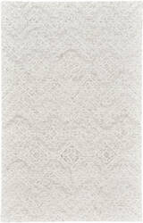 Feizy Rhett I8077 Light Gray - Ivory Area Rug