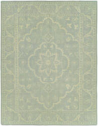 Hri Antique Natural An-262 Blue - Ivory Area Rug