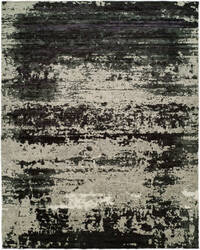 Hri Avalon Av-9718 Grey - Black Area Rug