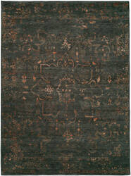 Hri Castle Cs-12 Charcoal - Copper Area Rug