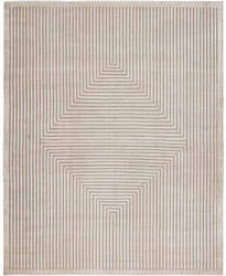 Hri Latitude La-3058 Ivory - Grey Area Rug