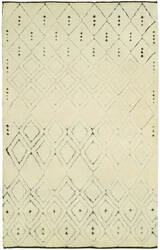 Hri Oasis OS-3 Ivory - Brown Area Rug