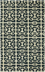 HRI Vesta Ve-19 Blue Area Rug