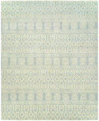 Hri Vogue 20-A Ivory - Blue Area Rug