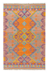 Jaipur Living Anatolia Kaliediscope At07 Burnt Orange - Amphora Area Rug