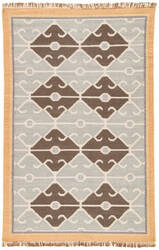 Jaipur Living Anatolia Sultan At15 Bone White and Wood Ash Area Rug