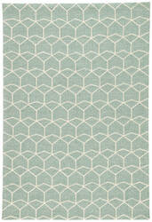 Jaipur Living Barcelona I-O Estrellas Ba67 Cloud Cream - Beryl Green Area Rug