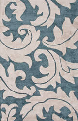 Jaipur Living Blue Aloha Bl133 Brittany Blue - Light Gray Area Rug
