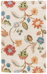 Jaipur Living Blue Garden Party Bl33 Oak Buff - Arabian Spice Area Rug