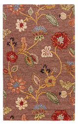 Jaipur Living Blue Garden Party Bl45 Coffee Liqueur - Sauterne Area Rug