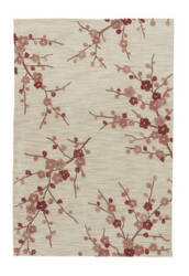 Jaipur Living Brio Cherry Blossom Br02 White Asparagus - Rose Dawn Area Rug