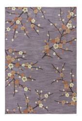 Jaipur Living Brio Cherry Blossom Br16 Cinder - Rattan Area Rug
