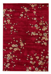Jaipur Living Brio Cherry Blossom Br17 Chili Pepper - After Dark Area Rug