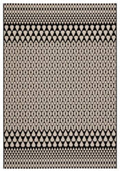 Jaipur Living Catamaran Traveller Cam01 Black - Ivory Area Rug