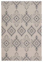 Jaipur Living Catamaran Compass Cam06 Ivory - Blue Area Rug