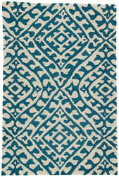 Jaipur Living Catalina Keene Cat54 Cream - Teal Area Rug
