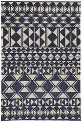 Jaipur Living Catalina Botella Cat56 Navy - Cream Area Rug