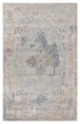 Jaipur Living Citrine Bronde Cit04 Gray - Light Blue Area Rug