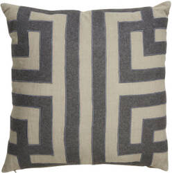 Jaipur Living Cosmic By Nikki Chu Pillow Ordella Cnk06 Gray - Silver Area Rug