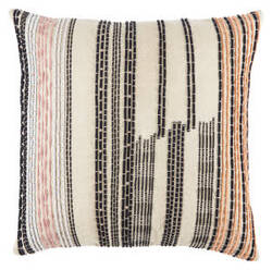 Jaipur Living Cosmic By Nikki Chu Pillow Nki36 Cnk32 Oxford Tan - Phantom