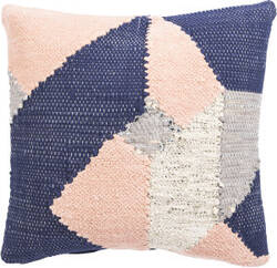 Jaipur Living Cosmic By Nikki Chu Pillow Tanis Cnk42 Blue - Pink