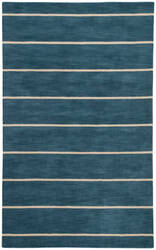Jaipur Living Coastal Dunes Ketch Cod03 Dark Denim - Oyster Gray Area Rug
