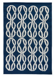 Jaipur Living Coastal Lagoon Roped In Col23 Estate Blue - Pristine Area Rug