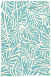 Jaipur Living Coastal Lagoon Palm Breezy Col63 Teal Area Rug