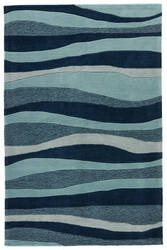 Jaipur Living Coastal Tides Dock Cot05 Dress Blues - Mineral Blue Area Rug