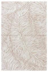 Jaipur Living Coastal Tides Melbor Cot14 Oxford Tan - Bone White Area Rug