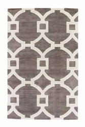 Custom Jaipur Living City Regency Ct03 Smoked Pearl - Bright White Area Rug