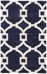 Custom Jaipur Living City Regency Ct51 Medieval Blue - Gardenia Area Rug