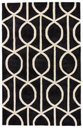 Jaipur Living City Seattle Ct96 Jet Black - Turtledove Area Rug