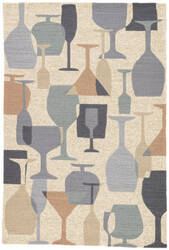 Jaipur Living Design Campus-Indoor Outdoor Clink Dci03 Moth - Tuffet Area Rug