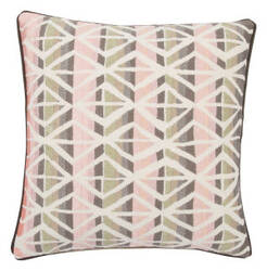 Jaipur Living Dekota Pillow Cuarto Dek11 Gray - Pink Area Rug