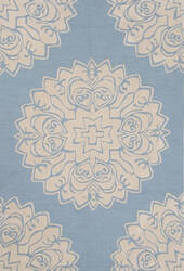 Jaipur Living Devine Aquarius Dev04 Milky Blue - Frozen Dew Area Rug