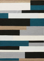 Jaipur Living Elmhurst Woodward Elm04 Jet Black and Mediterranean Area Rug